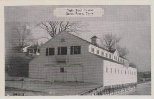 Connecticut Gales Ferry Yale Boat House  Dexter Press Archives