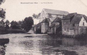 MONTREUIL SUR MER, Pas De Calais, France, 1900-1910s; Les Petits Moulins