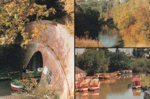 Stoke Bruerne Blisworth Northampton Grand Union Canal Postcard