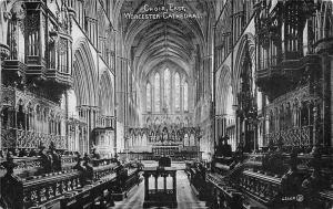 Worcester Cathedral Choir East Cattedrale