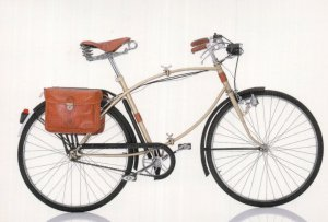 Trussardi Italian Italy 1985 Bicycle Bike Cycle Postcard