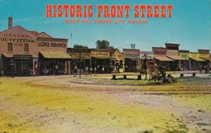 Kansas Dodge City Boot Hill Historic Front Street
