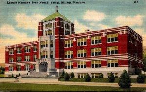 Montana Billings Eastern Montana State Normal School 1951