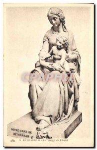 Postcard Betharram Old Virgin Altar