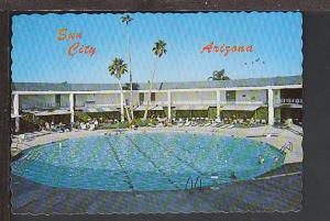 Swimming Pool Sun City AZ Postcard BIN