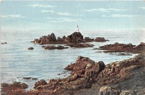 BR37287 Corbiere Lighthouse Jersey channel islands