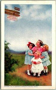 HUMPHREY'S WITCH HAZEL OIL Advertising Postcard Vernon Drug Store Middletown NY