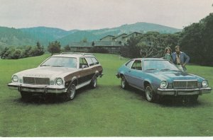 1975 Mercury Bobcat Villager Wagon & 3-Dr. Runabout Cars