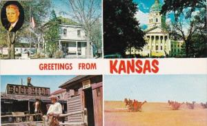 Greetings From Kansas Multi View