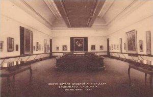 California Sacramento E.B.Crocker Art Gallery Artvue