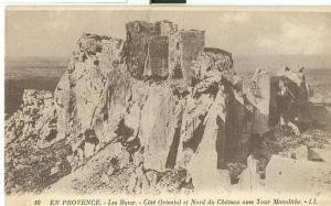 En Provence, Les Baux, Cote Oriental et Nord du Chateau