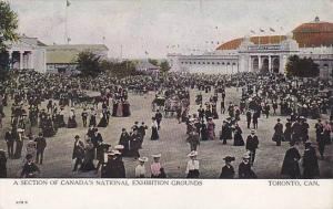 A Section Of Canada's National Exhibition Grounds, Toronto Exhibition, Ontari...