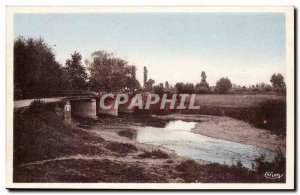 (Cote d & # 39Or) trouhans- A Corner of & # 39Ouche Post Card Old