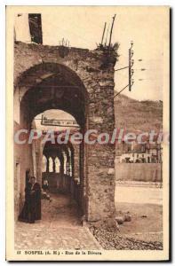 Postcard Old Street SOSPEL of Bevera