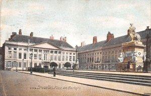 Place des Martyrs Bruxelles Belgium 1909