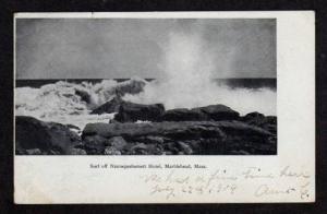 MA Surf NANNEPASHEMETT Hotel MARBLEHEAD MASS Postcard