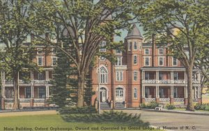 MASONS, North Carolina, 1930-40's; Main Building, Oxford Orphanage, Own And O...