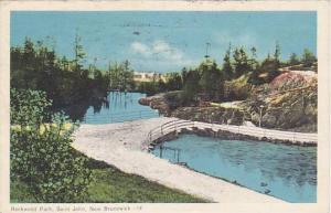 Rockwood Park, St. John, New Brunswick, Canada, PU-1955