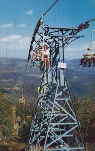 Whiteface Mount Ski Center Chair Lift Lake Placid New York 1966