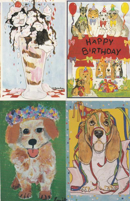 (4 cards) It's Party Time - North Shore Animal League