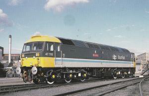 Festiniog Welsh Railway Porimadoc Oldest Passenger Train In World Postcard