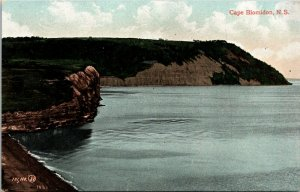 Cape Blomidon Nova Scotia Souvenir Postcard