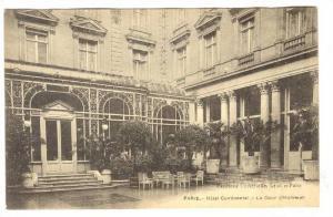 Hotel Continental - La Cour d'Honneur , Paris , France, 00-10s