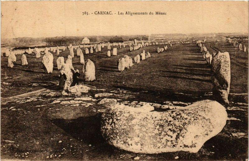 CPA CARNAC - Les Alignements du Menec (430987)