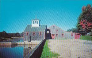 Maine Kennebunkport Typical Old Maine Grist Mill