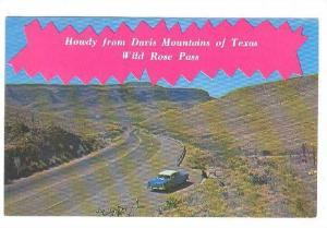 Howdy From The Wild Rose Pass, Texas, 40-60s