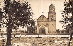 Reynosa Mexico~Templo Parroquial~Roman Catholic Church Parish~RPPC 1930 Postcard