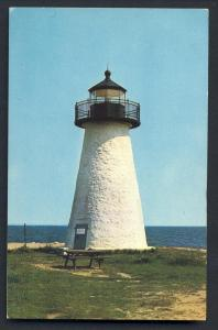Mattapoisett, Mass/MA Postcard, Angelica Point Light