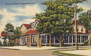 North Carolina Jacksonville Riverview Hotel and Gas Station