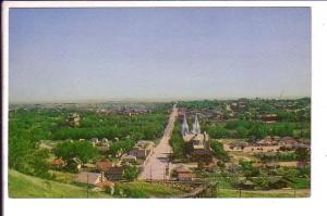 Aerial View from Crescent Heights Medicine Hat Alberta,