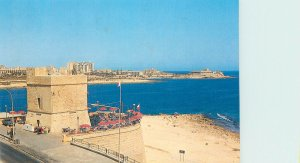 Postcard Malta St Julian's tower from 1658