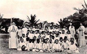 Down Memory Lane, Teacher and Students Guam Unused