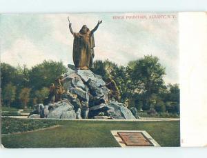 Pre-1907 MONUMENT Albany New York NY A2314