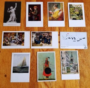Art on Post Cards
