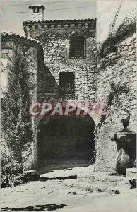 Modern Postcard Eze Village Chateau Barlow