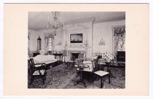 Henry Francis Du Pont Winterthur Museum DE Parlor Port Royal Frankford Postcard