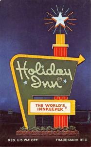 Madison Wisconsin~Holiday Inn~1960 Postcard