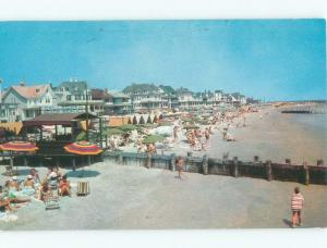 Pre-1980 OCEANFRONT COTTAGES ON BEACH Cape May New Jersey NJ d7718