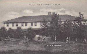 Maine NaplesThe Main House Camp Wenonah Artvue