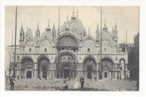 Italy Venice Chiesa di S Marco Cathedral St Marks Postcard