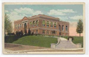 Public Library, Easton, Pennsylvania, 1910-1920s