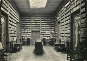 Rožňava District Košice Region of eastern Slovakia BETLIAR Library interior 1961