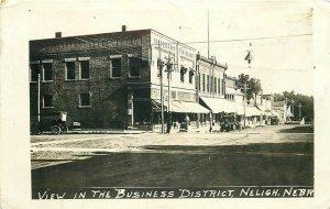 NE, Neligh, Nebraska, Business District, RPPC