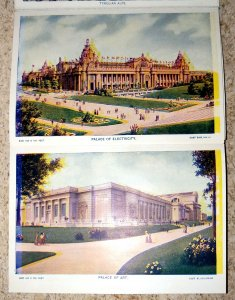Panoramic View Louisiana Purchase Exposition, St. Louis USA 1904  Souvenir Pack