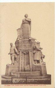 France Postcard - Lens a Ses Enfants Morts Pour La France - Ref 18373A