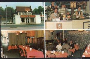 ON BROCKVILLE MultiView King's Restaurant Dining Lounge 50 King St 1950s-1970s
